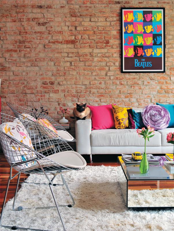 Puur een bakstenen muur - Deco originele muur ...